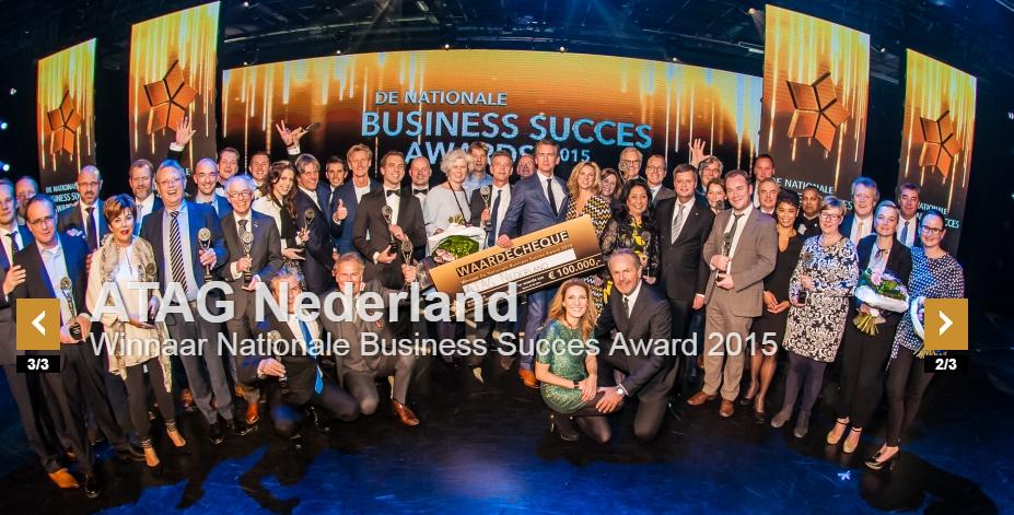 CatchYourTalent opgelicht door Nationale Business Succes Award